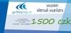 dárková poukázka / voucher  1500 Kč