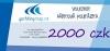dárková poukázka / voucher  2000 Kč